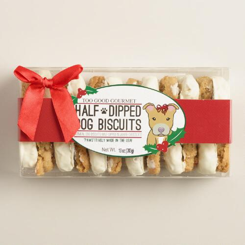 Too Good Gourmet Holiday Dog Biscuits