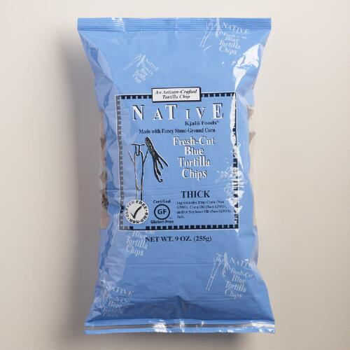 Native Kjalii Blue Corn Tortilla Chips