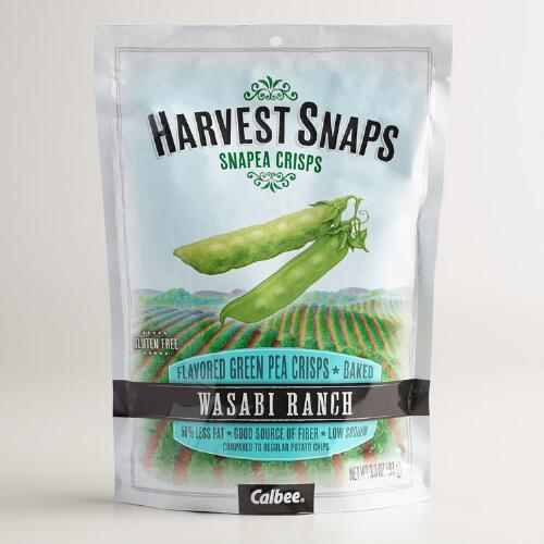 Calbee Wasabi Ranch Snapea Crisps, Set of 12