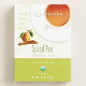 Organic Spiced Pear Tea, Set of 4