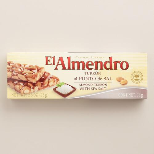 El Almendro Almond Turron with Sea Salt