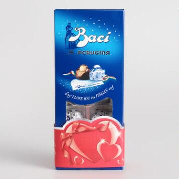 Baci Perugina Christmas Dark Chocolate, 8 Piece