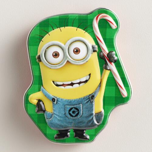 Boston Minions Merry Berry Candy Tin