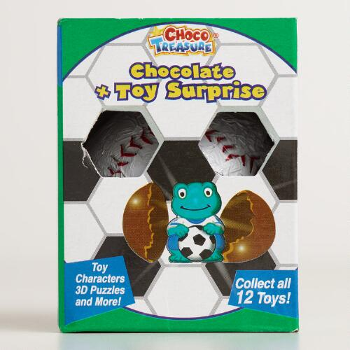 Milk Chocolate Ball with Toy