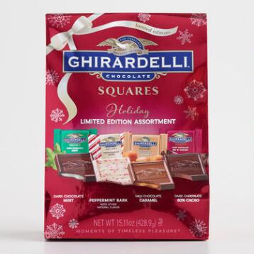Ghirardelli Holiday Assorted Chocolate Bag