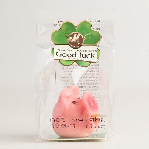 Odenwaelder Marzipan Good Luck Pig and Penny