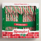 Spangler Peppermint Candy Cane, 12 Count