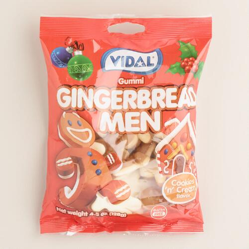Vidal Gingerbread Men Gummy Candy