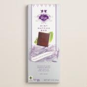 Vosges Christmas Matcha Mint Milk Chocolate Bar