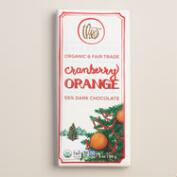 Theo Cranberry Orange Dark Chocolate Bar