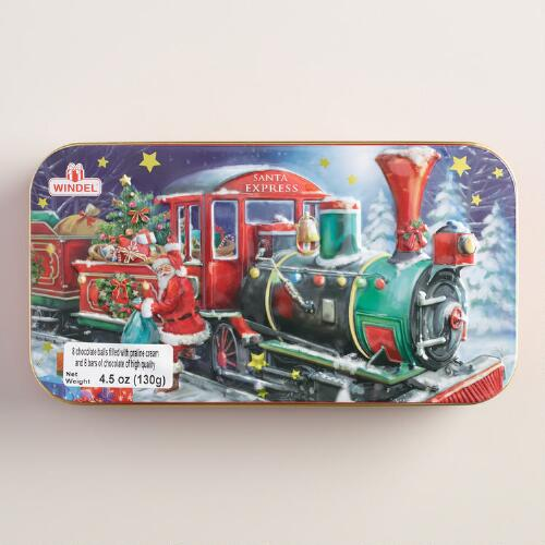 Windel Chocolates in Train Gift Tin