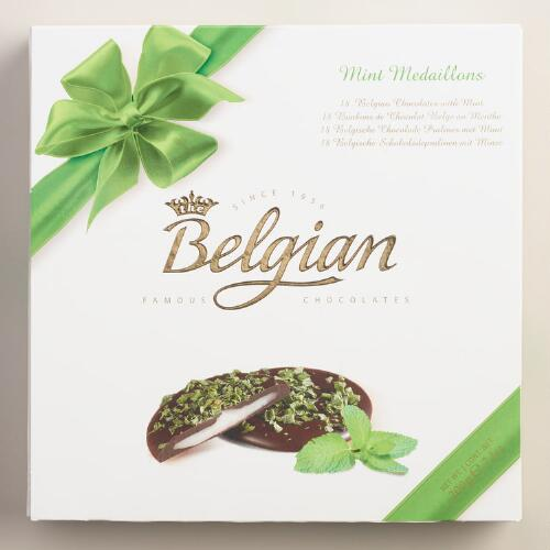 Belgian Chocolate Mint Medallions