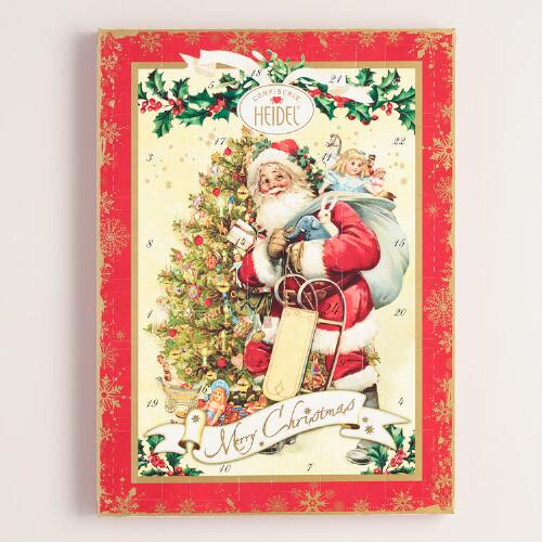 Heidel Extra Large Nostalgic Chocolate Advent Calendar