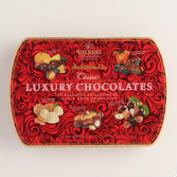 Walkers Red Luxury Chocolates Gift Tin