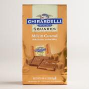 Large Ghirardelli Milk Chocolate and Caramel Squares Bag