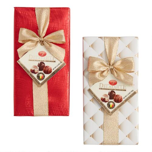 Delafaille Wrapped Chocolate Box Set of 2