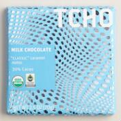 TCHO 39% Milk Chocolate Bars, Set of 2