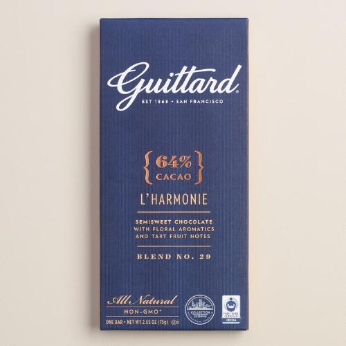 Guittard 64% Chocolate Bars, Set of 2