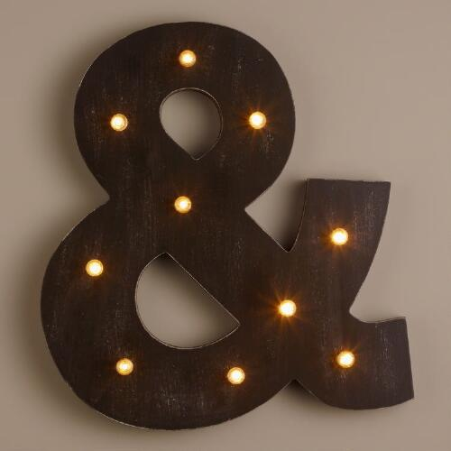 Ampersand LED Battery Operated Marquee Light