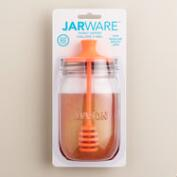 Jarware Regular-Mouth Mason Jar Honey Dipper