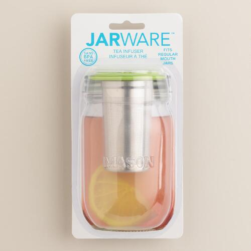 Jarware Regular-Mouth Mason Jar Tea Infuser