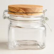 Small Olivewood Canister