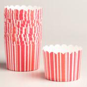 Candy Cane Stripe Freestanding Baking Cups, 12-Count