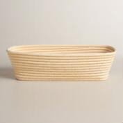 Rectangular Rattan Banneton Bread Proofing Basket