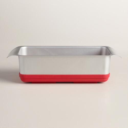 Steel and Silicone Pop Out Loaf Pan