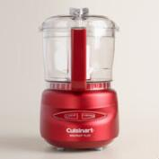 Red Cuisinart Mini Prep Plus Food Processor