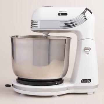White Dash Go Everyday Electric Mixer