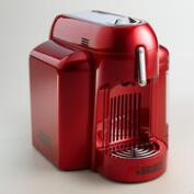 Red Bialetti Mini Express Single Serve Espresso Maker
