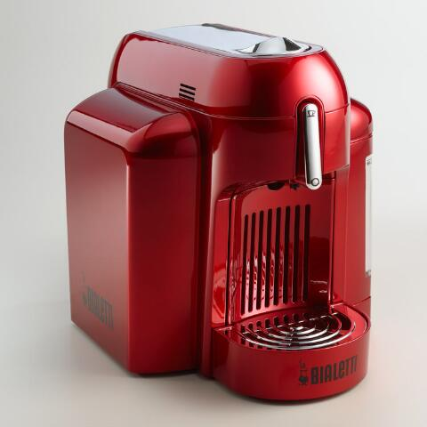 Red Bialetti Mini Express Single Serve Espresso Maker World Market