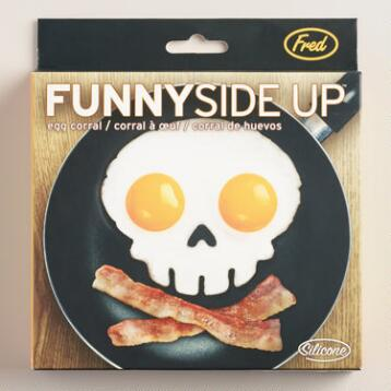 Skull Funnyside Up Egg Mold
