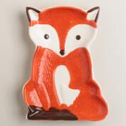 Ceramic Fox Spoon Rest