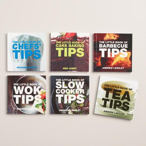 """The Little Book of Tips"" Kitchen Series, Set of 6"
