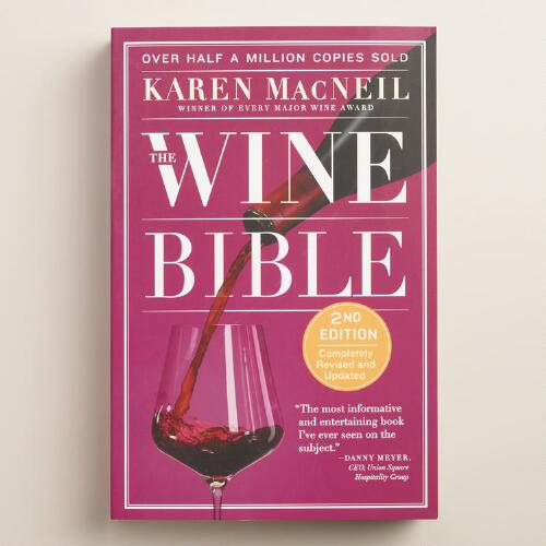"""The Wine Bible"" Book"