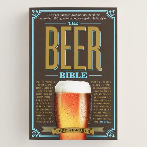 """The Beer Bible"" Book"