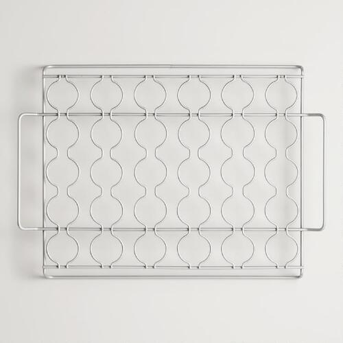 Stainless Steel Seafood Grill Rack