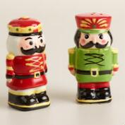 Nutcracker Salt and Pepper Shaker Set