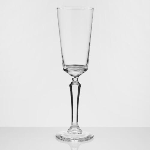 Speakeasy Champagne Flutes Set of 4