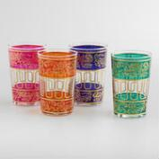Moroccan Tea Glasses, Set of 4