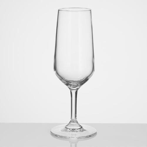Verso Champagne Flutes, Set of 6