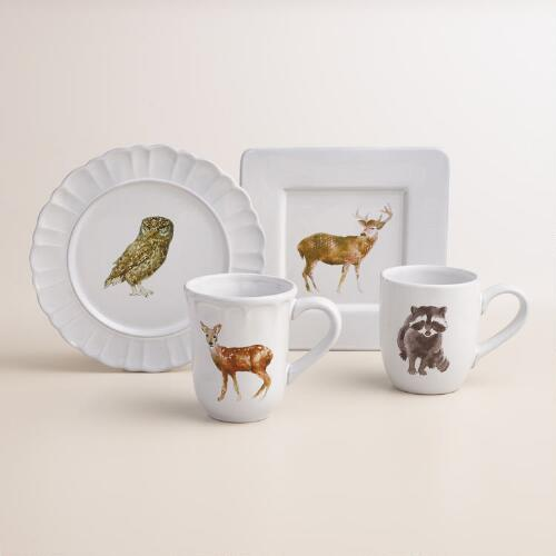 Woodland Dinnerware