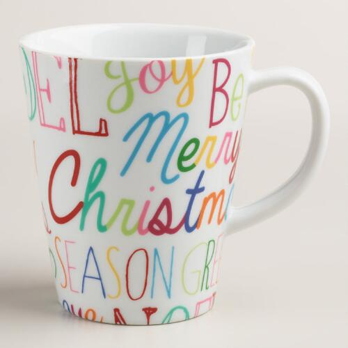Tra La La Mugs, Set of 4