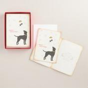 Merry Christmas Dog Bone Boxed Holiday Cards, Set of 15