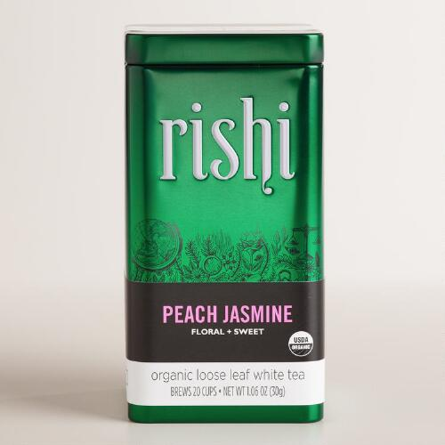 Rishi Peach Jasmine Loose Leaf Tea