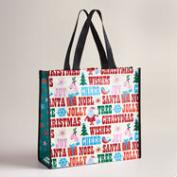 Holiday Words Tote