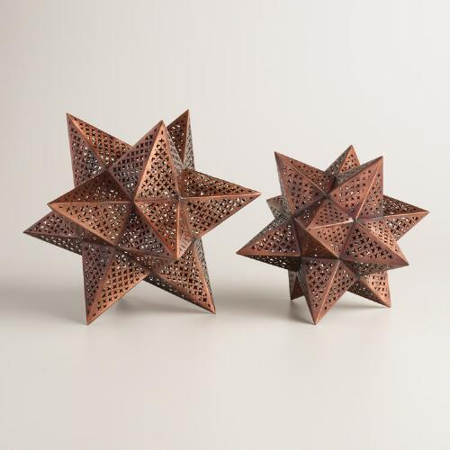 Punched Metal Stars