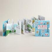 Mini Folding Paris Book